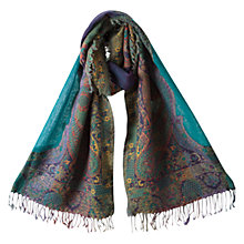 Buy East Multi Kingfisher Shawl, Multi Online at johnlewis.com
