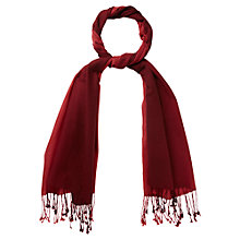 Buy Viyella Tie Dye Scarf, Dark Chianti Online at johnlewis.com