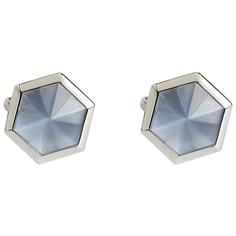 Buy Simon Carter Catseye Hexagonal Cufflinks Online at johnlewis.com