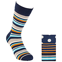 Buy Happy Socks Spots and Stripes Socks, Pack of 3, Multi Online at johnlewis.com