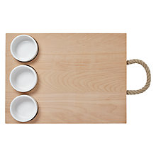 Buy Garden Trading Oak Antipasti Board Online at johnlewis.com
