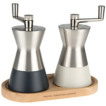Buy Universal Expert by Sebastian Conran Salt and Pepper Mill Set Online at johnlewis.com