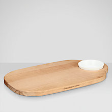 Buy Universal Expert by Sebastian Conran Serving Board and Dip Bowl Online at johnlewis.com