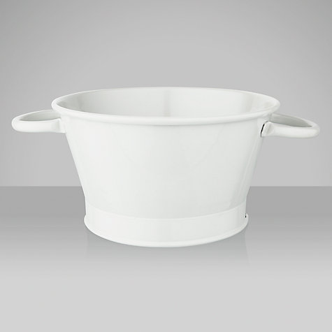 Buy Garden Trading Round Colander, Clay Online at johnlewis.com