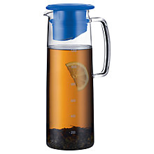 Buy Bodum Biasca Ice Green Tea Jug, Blue Online at johnlewis.com