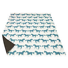 Buy Anorak Kissing Horses Picnic Rug, L145cm Online at johnlewis.com