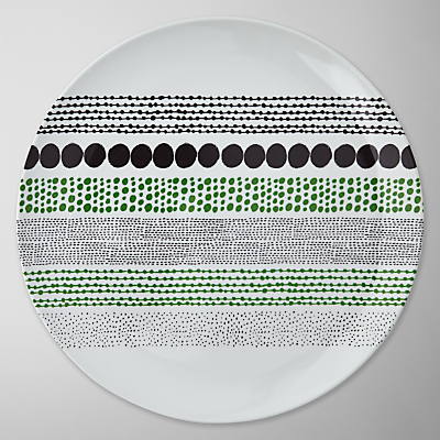 House by John Lewis Chain Dot Dinner Plate