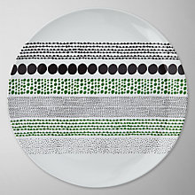 Buy House by John Lewis Chain Dot Dinner Plate Online at johnlewis.com