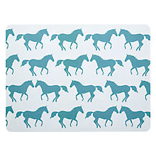 Buy Anorak Kissing Horses Placemats, Set of 4 Online at johnlewis.com