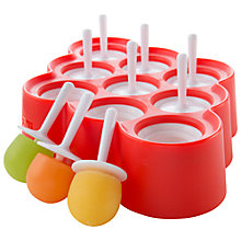 Buy Zoku Slow Pops Mini Ice Lolly Mould Online at johnlewis.com