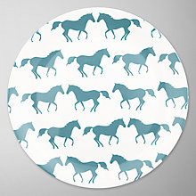 Buy Anorak Kissing Horses Plate Online at johnlewis.com