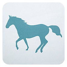 Buy Anorak Kissing Horses Coasters, Set of 4 Online at johnlewis.com
