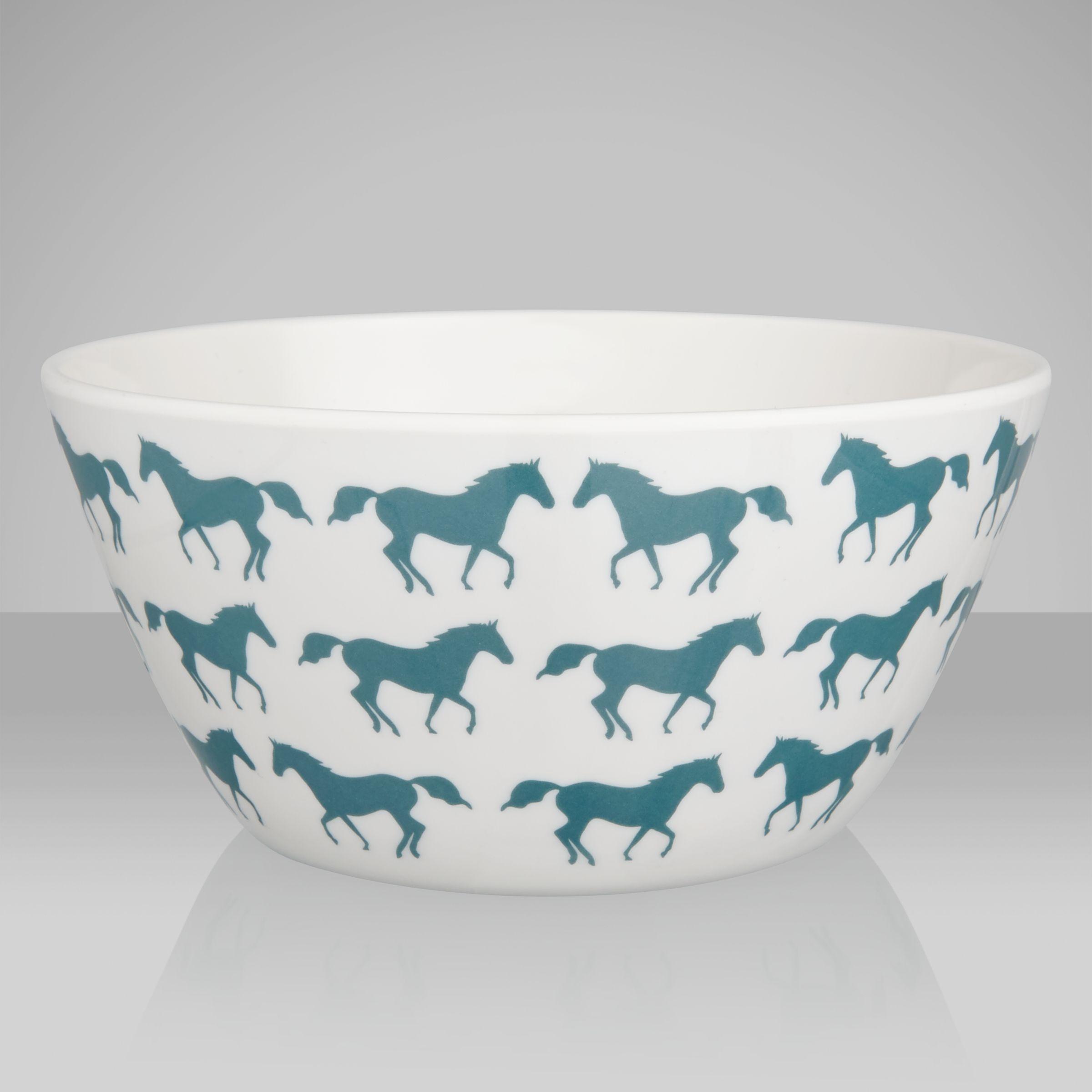 Anorak Kissing Horses Bowl
