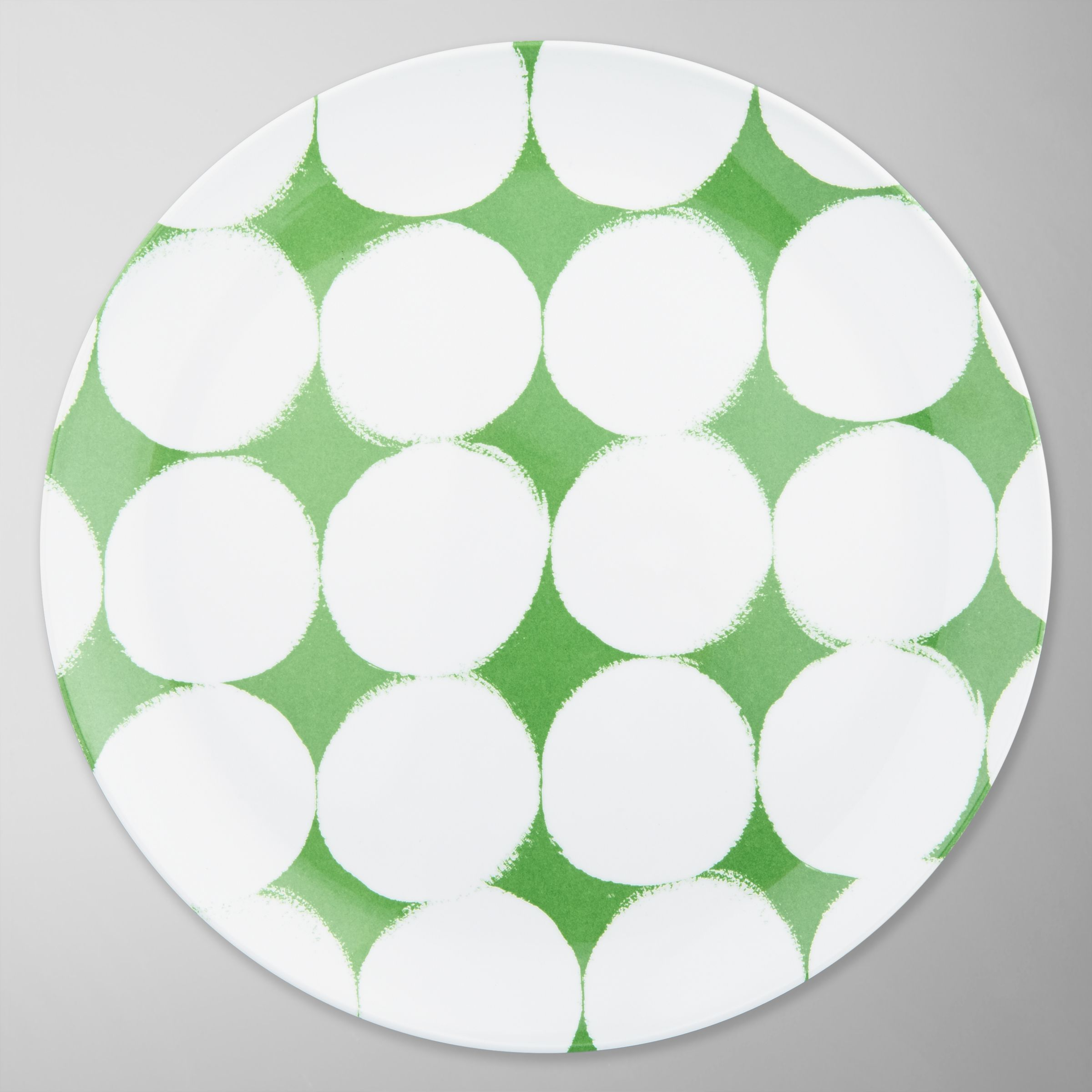 House by John Lewis Dots Dinner Plate