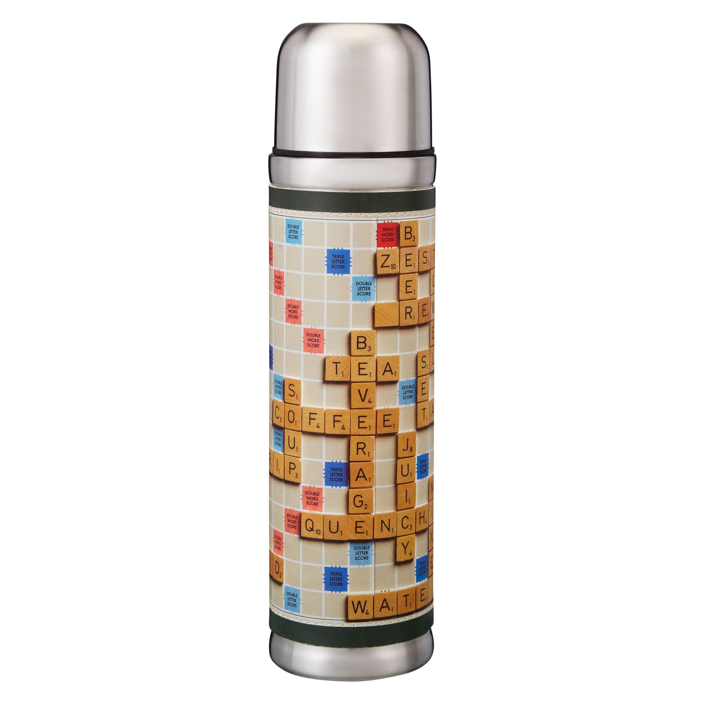 Wild & Wolf Scrabble Flask, 500ml