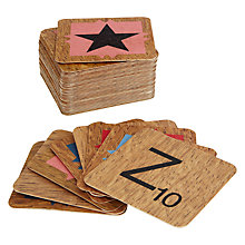 Buy Wild & Wolf Scrabble Coasters, Set of 54 Online at johnlewis.com