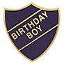 Buy Wild & Wolf Vintage School Birthday Boy Badge Online at johnlewis.com