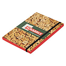 Buy Wild & Wolf Scrabble A5 Notebook Online at johnlewis.com