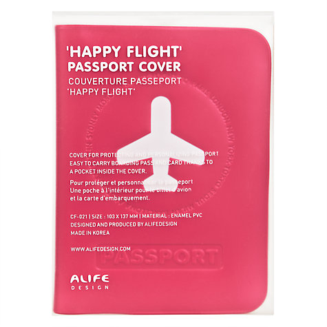 Buy Alife Passport Cover Online at johnlewis.com