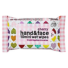 Buy Heart Hand And Face Wet Wipes, Pack of 10 Online at johnlewis.com