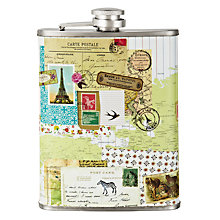 Buy Bon Voyage Hip Flask, 227ml Online at johnlewis.com