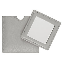 Buy Leather Mirror Online at johnlewis.com