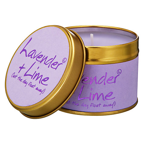 Buy Lily-flame Lavender & Lime Mini Candle Tin Online at johnlewis.com