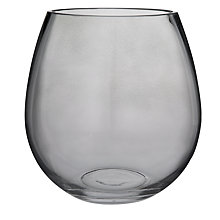 Buy Leonardo Hurricane Vase, Clear Online at johnlewis.com