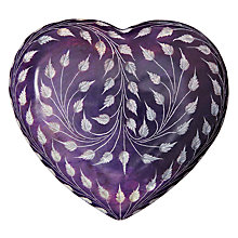 Buy John Lewis Leaf Trail Doorstop, Purple Online at johnlewis.com