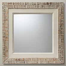 Buy John Lewis Wooden Mirror, White Online at johnlewis.com