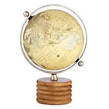 Buy John Lewis Wooden Globe, Medium Online at johnlewis.com
