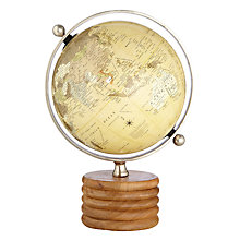 Buy John Lewis Wooden Globe, Large Online at johnlewis.com