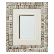 "Buy John Lewis Wood Frame, White, 4x6"" Online at johnlewis.com"