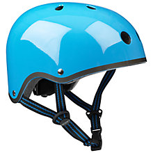 Buy Micro Scooters Helmet, Small/Medium, Neon Blue Online at johnlewis.com