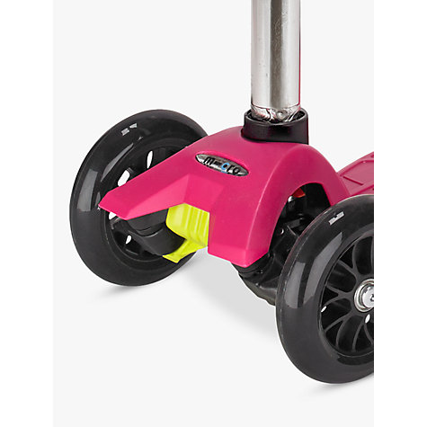 Buy Micro Scooters Maxi Micro Scooter, Raspberry Online at johnlewis.com