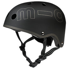 Buy Micro Scooters Helmet, Medium, Black Online at johnlewis.com