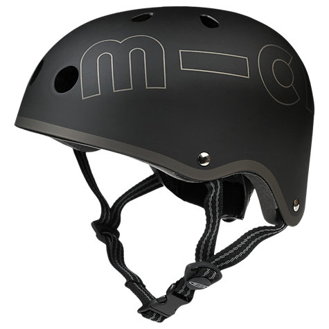 Buy Micro Scooter Helmet, Black, Medium Online at johnlewis.com