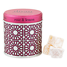 Buy Divan Rose & Lemon Turkish Delights, 150g Online at johnlewis.com