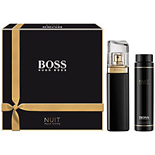 Buy Boss Nuit Eau de Parfum Fragrance Set, 50ml Online at johnlewis.com