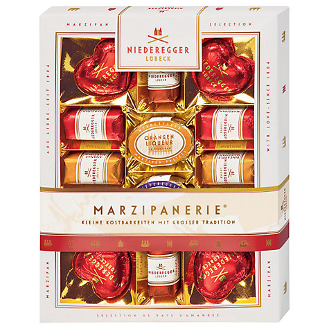 Buy Niederegger Marzipanerie Marzipan Gift Box, 182g Online at johnlewis.com