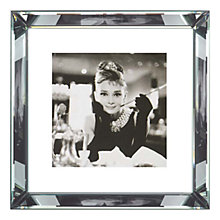 Buy Brookpace, The Manhattan Collection - Breakfast at Tiffany's Framed Print, 46 x 46cm Online at johnlewis.com