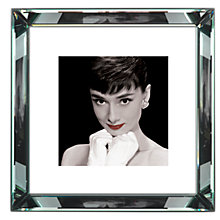 Buy Brookpace, The Manhattan Collection - Audrey Hepburn Red Lips Framed Print, 46 x 46cm Online at johnlewis.com