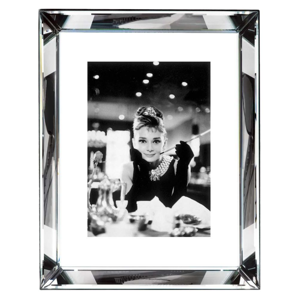 Brookpace Brookpace, The Manhattan Collection - Audrey Hepburn Framed Print, 87 x 67cm