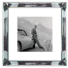 Buy Brookpace, The Manhattan Collection - James Bond Aston Martin Framed Print, 46 x 46cm Online at johnlewis.com