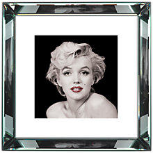 Buy Brookpace, The Manhattan Collection - Marilyn Monroe Red Lips Framed Print, 46 x 46cm Online at johnlewis.com