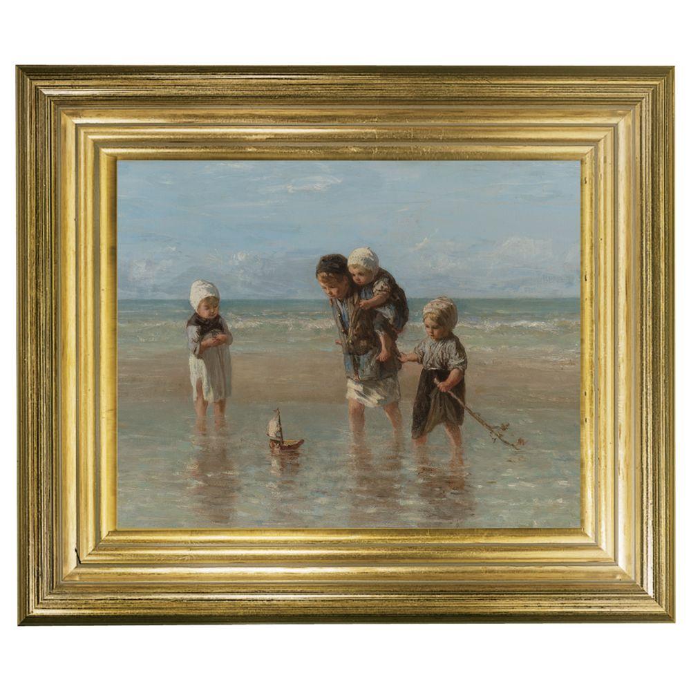 Rijksmuseum Rijksmuseum, Jozef Israëls - Children of the Sea Framed Print, 29 x 34cm