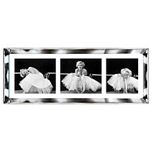 Buy Brookpace, The Manhattan Collection - Ballerina Triptych Framed Print, 39 x 102cm Online at johnlewis.com