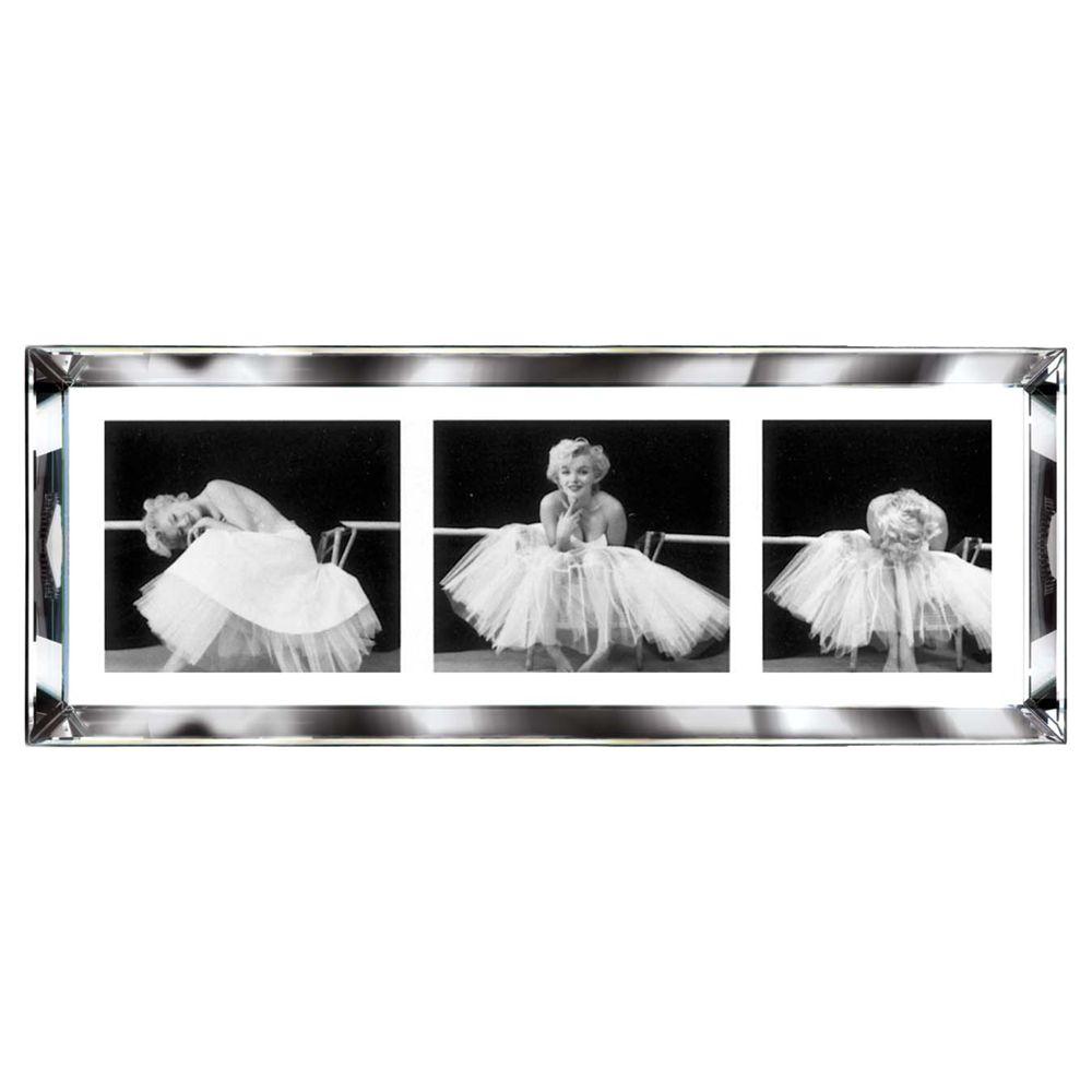 Brookpace Brookpace, The Manhattan Collection - Ballerina Triptych Framed Print, 39 x 102cm