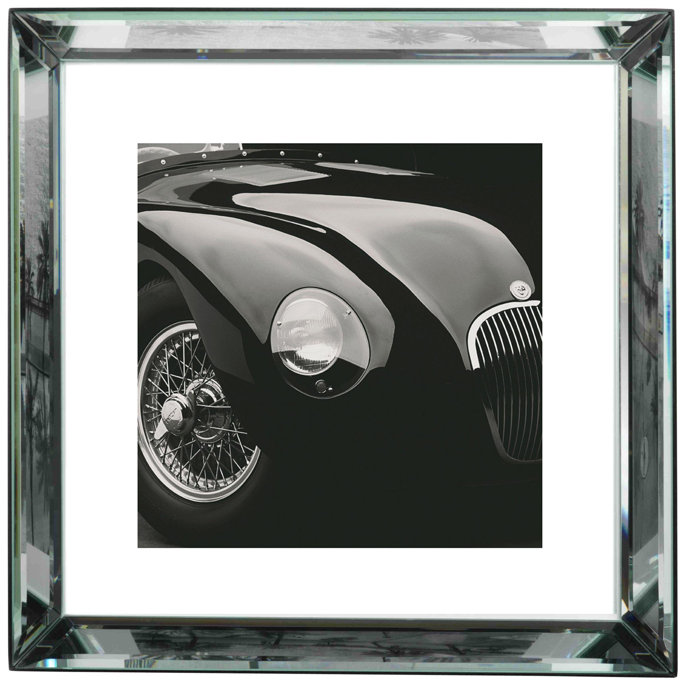 Brookpace Brookpace, The Manhattan Collection - Jaguar C-Type Framed Print, 57 x 57cm