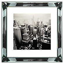 Buy Brookpace, The Manhattan Collection - Broadway New York City 2009 Framed Print, 46 x 46cm Online at johnlewis.com